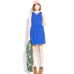 Madewell Teal Afternoon Dress